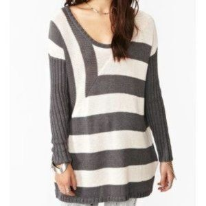 2/$20 Nasty Gal Out Of Line Knit Sweater Size S